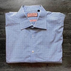 Men's Thomas Pink Classic Dress Shirt 17/35
